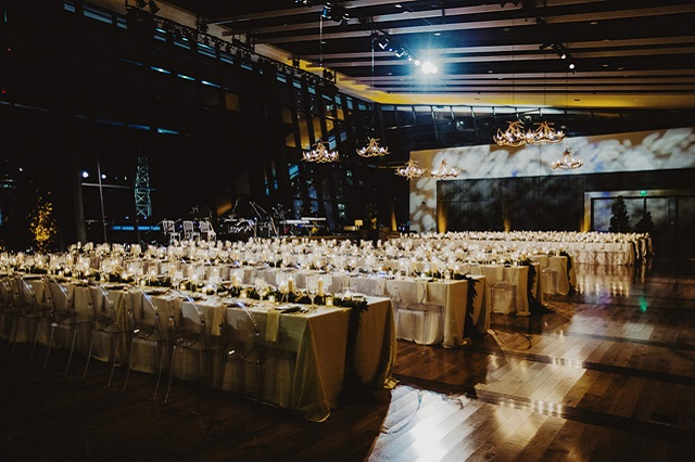 Country Music Hall of Fame Wedding - Fete Nashville - Photo by Samm Blake