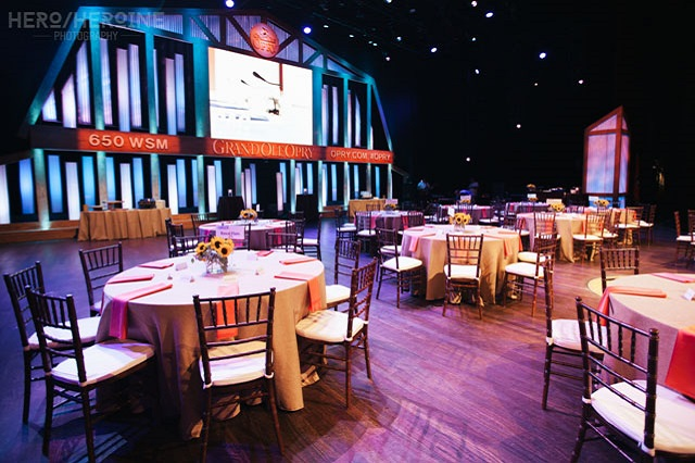Corporate Event at Grand Ole Opry - Photo by Hero Heroine