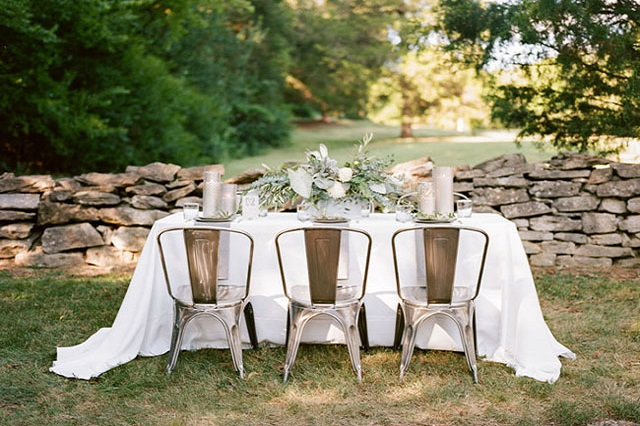 Gunmetal Chairs at Cedarwood - Photo by Jenna Henderson