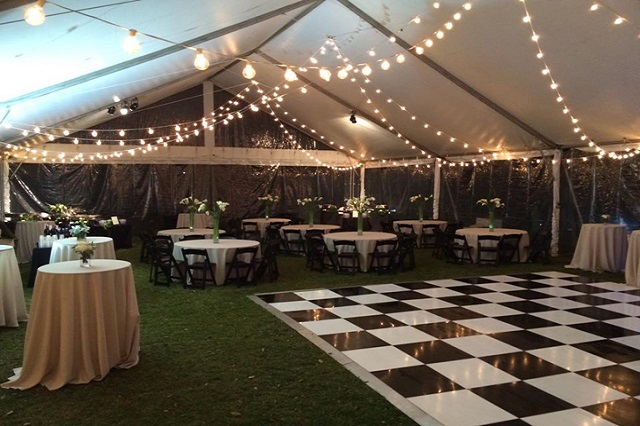 Ravenswood Mansion Tented Wedding