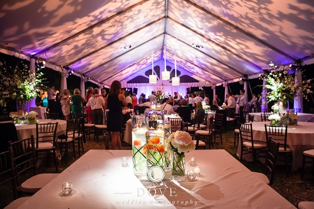 Tented Wedding - Photo by Dove Photography