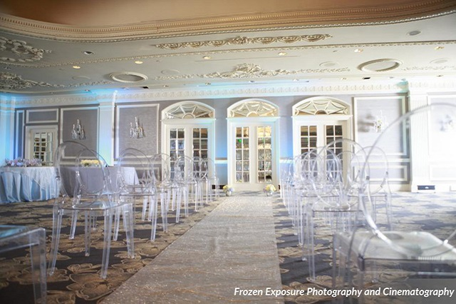 Ghost Chairs at Opryland Hotel Ceremony - Photo by Frozen Exposure