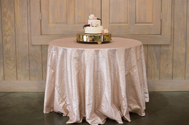 Glimmer Cake Table - Photo by Taylor Willis