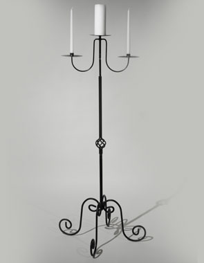 Where to find Candelabra, Unity Wrought Iron Black in Nashville