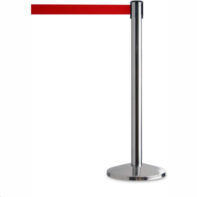 Where to find Chrome Stanchion with Red Belt in Nashville