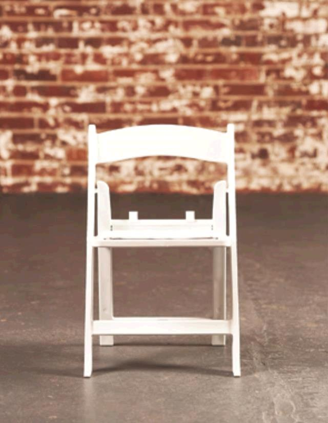 Where to find Chair, White Resin Folding  Child Sized in Nashville