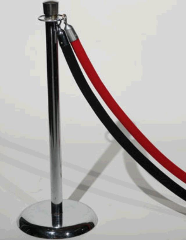 Where to find Stanchion Rope, 8  Red in Nashville