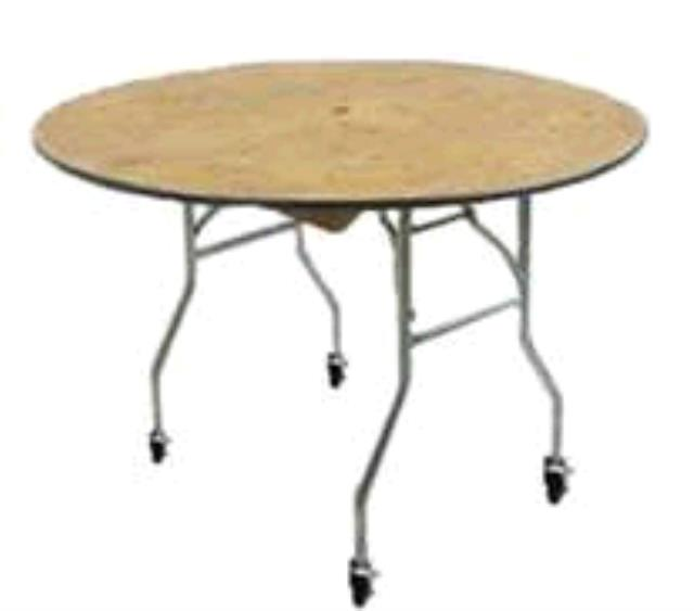 Where to find Table, 48  Round with Wheels in Nashville