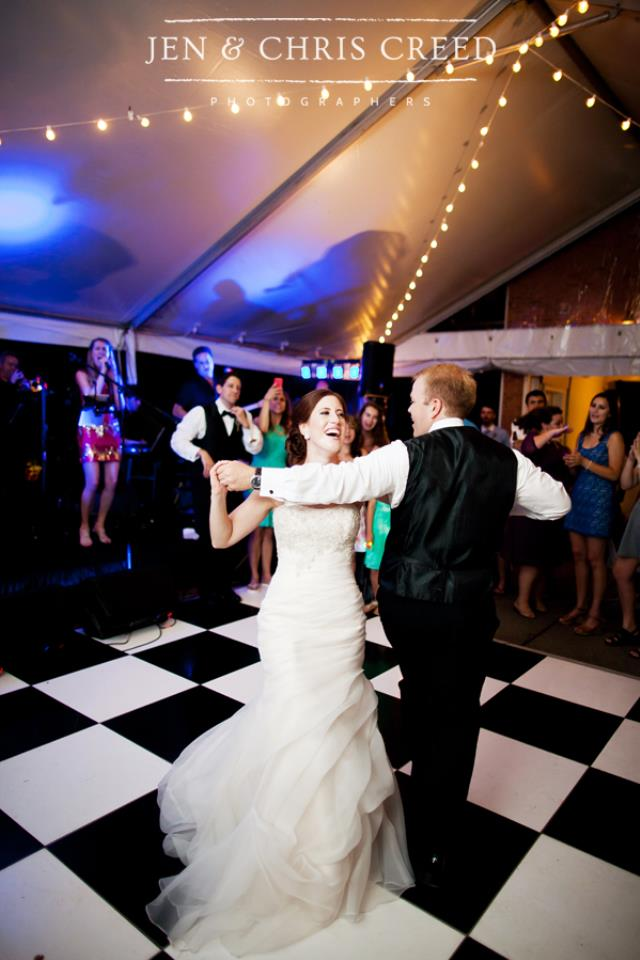 Where to find Black and White Acrylic Dance Floor in Nashville
