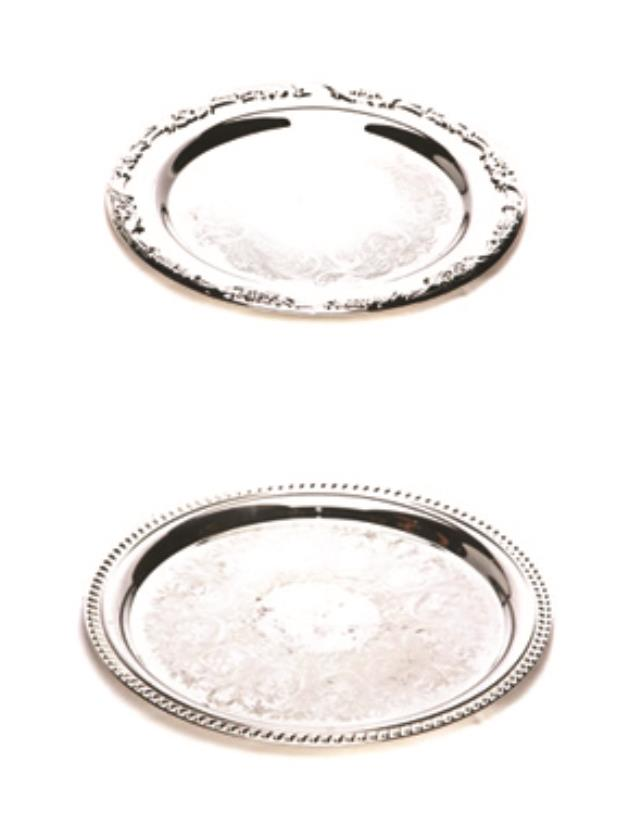 Where to find Round Silver Trays in Nashville