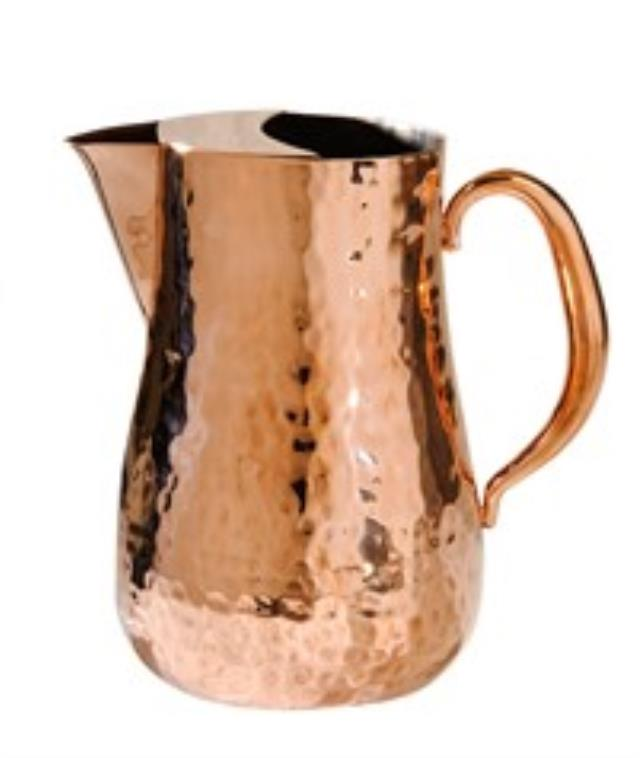 Where to find Pitcher, 68 oz. Hammered Copper in Nashville