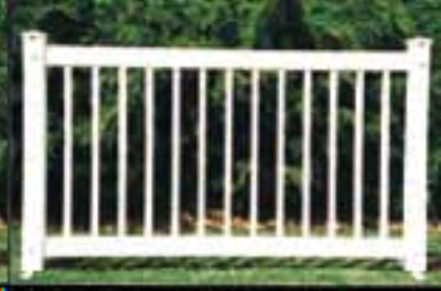 Fence Panel White 6 Foot X 42 Inch Rentals Nashville Tn