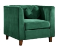 Rental store for Chair, Venice Emerald Velvet in Nashville TN