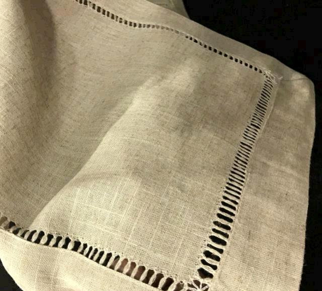 Rent Hemstitch Linen